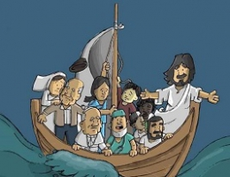 We're all in the same boat says Pope Francis