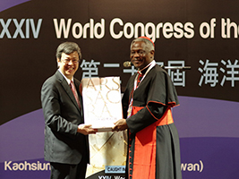 H.E. Chen Chien-jen and Cardinal Peter Turkson