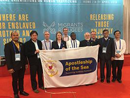 AoS global representatives at the conference