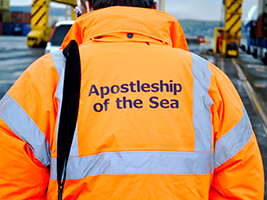 Supporting seafarers in hospital remains a vital part of Stella Maris Apostleship of the Sea's work