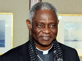 Cardinal Turkson: fishers are crying out for help