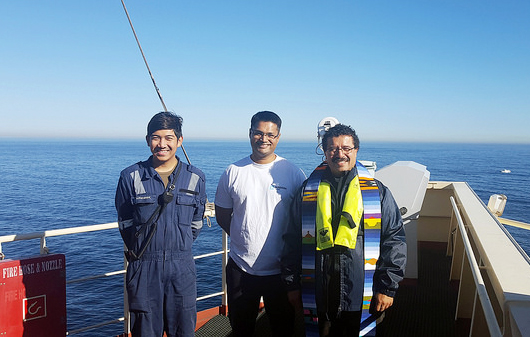 Fr Gerardo Garcia Stella Maris Apostleship of the Sea Cape Town port chaplain