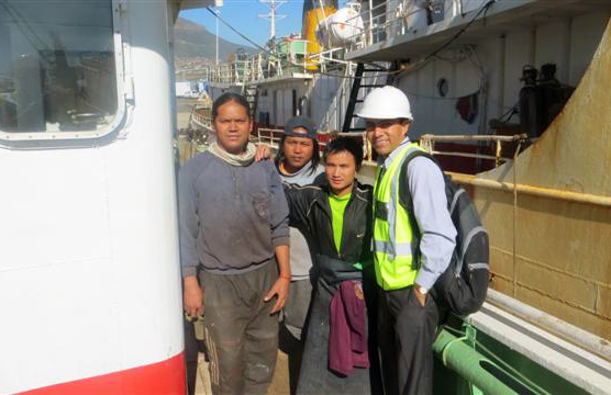 Apostleship of the Sea supports seafarers in South Africa